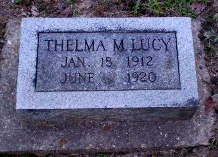 LUCY, THELMA M - Clay County, Arkansas | THELMA M LUCY - Arkansas Gravestone Photos