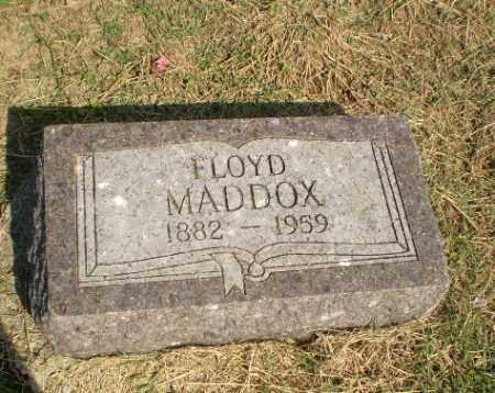 MADDOX, FLOYD - Clay County, Arkansas | FLOYD MADDOX - Arkansas Gravestone Photos