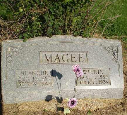 MAGEE, BLANCHE - Clay County, Arkansas | BLANCHE MAGEE - Arkansas Gravestone Photos
