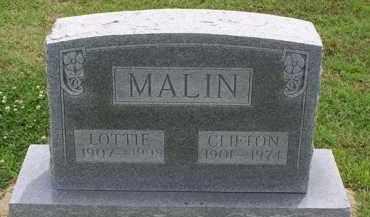 AUD MALIN, LOTTIE M - Clay County, Arkansas | LOTTIE M AUD MALIN - Arkansas Gravestone Photos