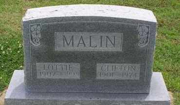 MALIN, LOTTIE M - Clay County, Arkansas   LOTTIE M MALIN - Arkansas Gravestone Photos