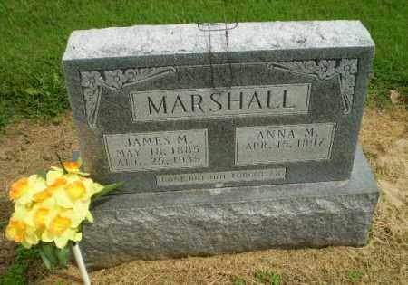 MARSHALL, JAMES M - Clay County, Arkansas | JAMES M MARSHALL - Arkansas Gravestone Photos