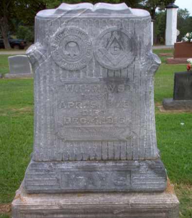 MAYS, W.H. - Clay County, Arkansas | W.H. MAYS - Arkansas Gravestone Photos