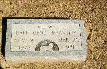 MCANTIRE, DALE GENE - Clay County, Arkansas | DALE GENE MCANTIRE - Arkansas Gravestone Photos