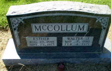 MCCOLLUM, ESTHER - Clay County, Arkansas | ESTHER MCCOLLUM - Arkansas Gravestone Photos