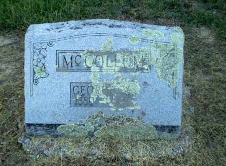 MCCOLLUM, GEORGE W - Clay County, Arkansas | GEORGE W MCCOLLUM - Arkansas Gravestone Photos