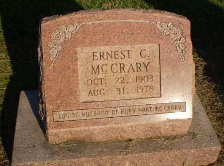 MCCRARY, ERNEST C - Clay County, Arkansas | ERNEST C MCCRARY - Arkansas Gravestone Photos