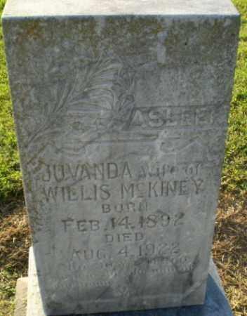 MCKINEY, JUVANDA - Clay County, Arkansas | JUVANDA MCKINEY - Arkansas Gravestone Photos