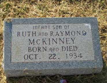 MCKINNEY, INFANT SON - Clay County, Arkansas | INFANT SON MCKINNEY - Arkansas Gravestone Photos
