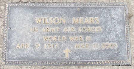 MEARS  (VETERAN WWII), WILSON - Clay County, Arkansas | WILSON MEARS  (VETERAN WWII) - Arkansas Gravestone Photos