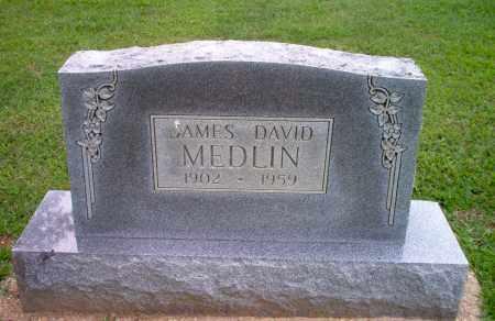 MEDLIN, JAMES DAVID - Clay County, Arkansas   JAMES DAVID MEDLIN - Arkansas Gravestone Photos