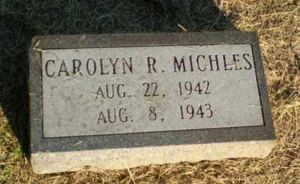 MICHLES, CAROLYN R - Clay County, Arkansas | CAROLYN R MICHLES - Arkansas Gravestone Photos