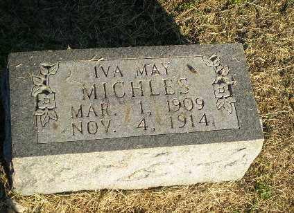MICHLES, IVA MAY - Clay County, Arkansas   IVA MAY MICHLES - Arkansas Gravestone Photos