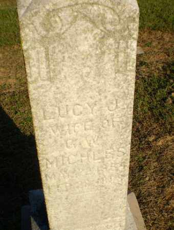 MICHLES, LUCY J - Clay County, Arkansas | LUCY J MICHLES - Arkansas Gravestone Photos