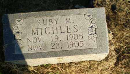 MICHLES, RUBY M - Clay County, Arkansas | RUBY M MICHLES - Arkansas Gravestone Photos