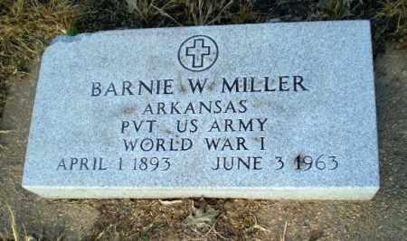 MILLER  (VETERAN WWI), BARNIE W - Clay County, Arkansas | BARNIE W MILLER  (VETERAN WWI) - Arkansas Gravestone Photos