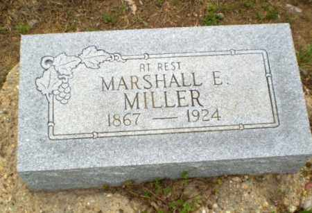 MILLER, MARSHALL E. - Clay County, Arkansas | MARSHALL E. MILLER - Arkansas Gravestone Photos