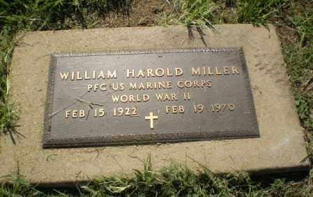 MILLER (VETERAN WWII), WILLIAM HAROLD - Clay County, Arkansas | WILLIAM HAROLD MILLER (VETERAN WWII) - Arkansas Gravestone Photos