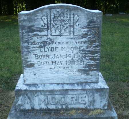 MOORE, CLYDE - Clay County, Arkansas   CLYDE MOORE - Arkansas Gravestone Photos