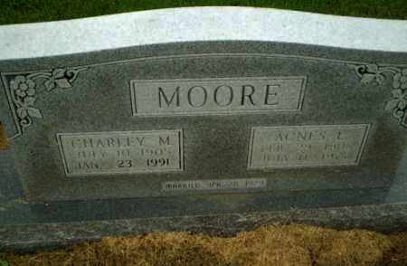 MOORE, CHARLEY M - Clay County, Arkansas | CHARLEY M MOORE - Arkansas Gravestone Photos