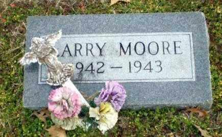 MOORE, LARRY - Clay County, Arkansas | LARRY MOORE - Arkansas Gravestone Photos