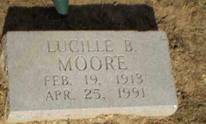 MOORE, LUCILLE B - Clay County, Arkansas | LUCILLE B MOORE - Arkansas Gravestone Photos