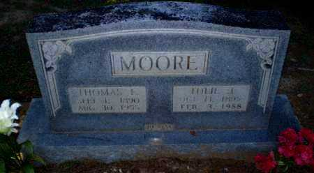 MOORE, THOMAS E - Clay County, Arkansas | THOMAS E MOORE - Arkansas Gravestone Photos