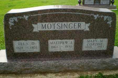 CORZINE, MARY M - Clay County, Arkansas   MARY M CORZINE - Arkansas Gravestone Photos