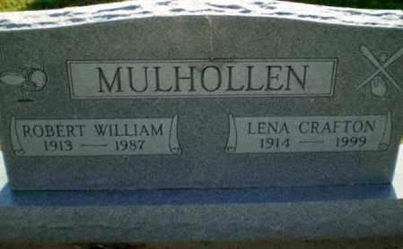 MULHOLLEN, LENA - Clay County, Arkansas | LENA MULHOLLEN - Arkansas Gravestone Photos
