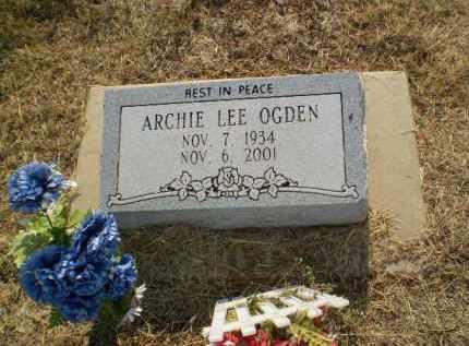 OGDEN, ARCHIE LEE - Clay County, Arkansas | ARCHIE LEE OGDEN - Arkansas Gravestone Photos