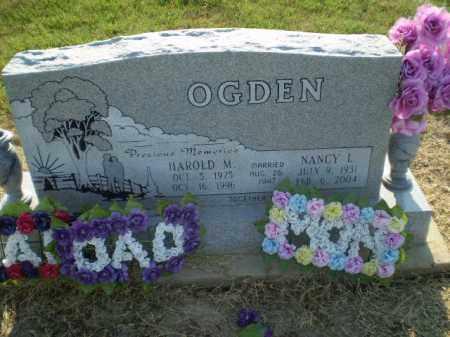 OGDEN, NANCY L - Clay County, Arkansas | NANCY L OGDEN - Arkansas Gravestone Photos