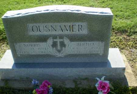 OUSNAMER, NORRIS - Clay County, Arkansas | NORRIS OUSNAMER - Arkansas Gravestone Photos
