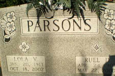 PARSONS, RUEL D - Clay County, Arkansas | RUEL D PARSONS - Arkansas Gravestone Photos