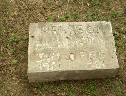 PEARSON, REBEKAH - Clay County, Arkansas | REBEKAH PEARSON - Arkansas Gravestone Photos