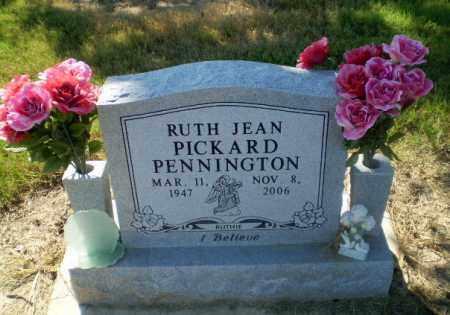 PENNINGTON, RUTH JEAN - Clay County, Arkansas | RUTH JEAN PENNINGTON - Arkansas Gravestone Photos