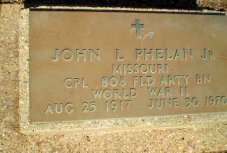 PHELAN  (VETERAN WWII), JOHN L - Clay County, Arkansas | JOHN L PHELAN  (VETERAN WWII) - Arkansas Gravestone Photos