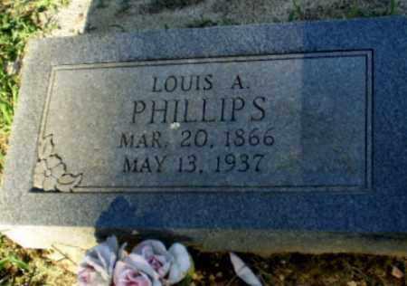 PHILLIPS, LOUIS A - Clay County, Arkansas | LOUIS A PHILLIPS - Arkansas Gravestone Photos