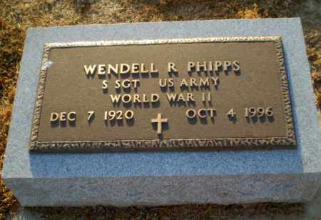 PHIPPS  (VETERAN WWII), WENDELL R - Clay County, Arkansas   WENDELL R PHIPPS  (VETERAN WWII) - Arkansas Gravestone Photos
