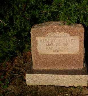 PIATT, ALBERT E - Clay County, Arkansas | ALBERT E PIATT - Arkansas Gravestone Photos