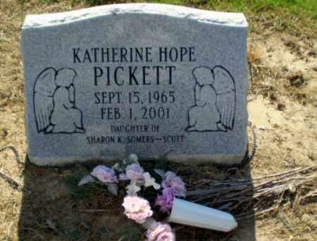 PICKETT, KATHERINE HOPE - Clay County, Arkansas   KATHERINE HOPE PICKETT - Arkansas Gravestone Photos