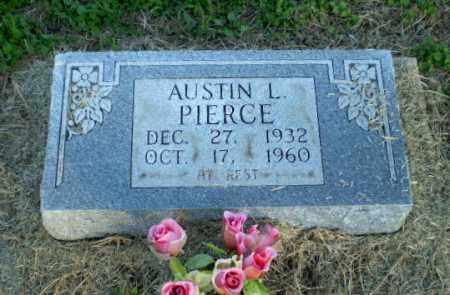 PIERECE, AUSTIN L - Clay County, Arkansas   AUSTIN L PIERECE - Arkansas Gravestone Photos