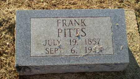 PITTS, FRANK - Clay County, Arkansas   FRANK PITTS - Arkansas Gravestone Photos