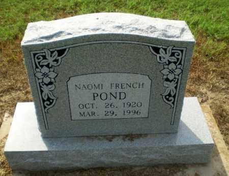 FRENCH POND, NAOMI - Clay County, Arkansas | NAOMI FRENCH POND - Arkansas Gravestone Photos