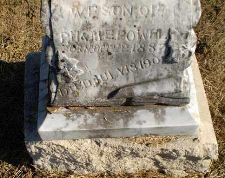 POWEL, W.F. - Clay County, Arkansas | W.F. POWEL - Arkansas Gravestone Photos