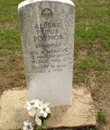 POYNOR  (VETERAN WWII), ALBERT RUFUS - Clay County, Arkansas   ALBERT RUFUS POYNOR  (VETERAN WWII) - Arkansas Gravestone Photos