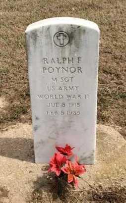 POYNOR (VETERAN WWII), RALPH F - Clay County, Arkansas   RALPH F POYNOR (VETERAN WWII) - Arkansas Gravestone Photos
