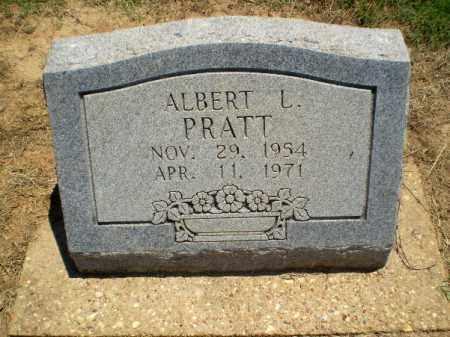 PRATT, ALBERT L - Clay County, Arkansas | ALBERT L PRATT - Arkansas Gravestone Photos