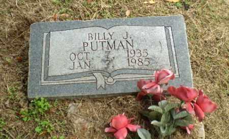 PUTNAM, BILLY J - Clay County, Arkansas   BILLY J PUTNAM - Arkansas Gravestone Photos