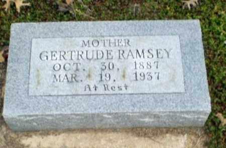 RAMSEY, GERTRUDE - Clay County, Arkansas | GERTRUDE RAMSEY - Arkansas Gravestone Photos