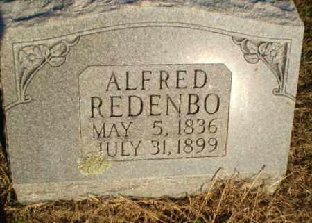 REDENBO, ALFRED - Clay County, Arkansas   ALFRED REDENBO - Arkansas Gravestone Photos